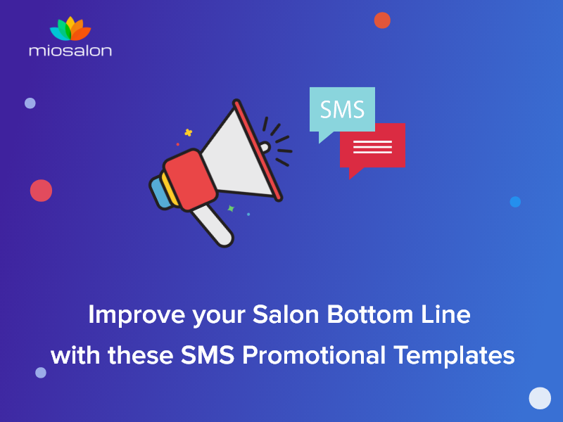 Salon SMS offer messages to increase Revenue