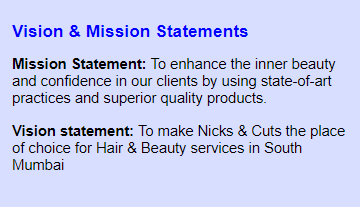 Integrating your Salon Mission & vision statement into your Salon Branding